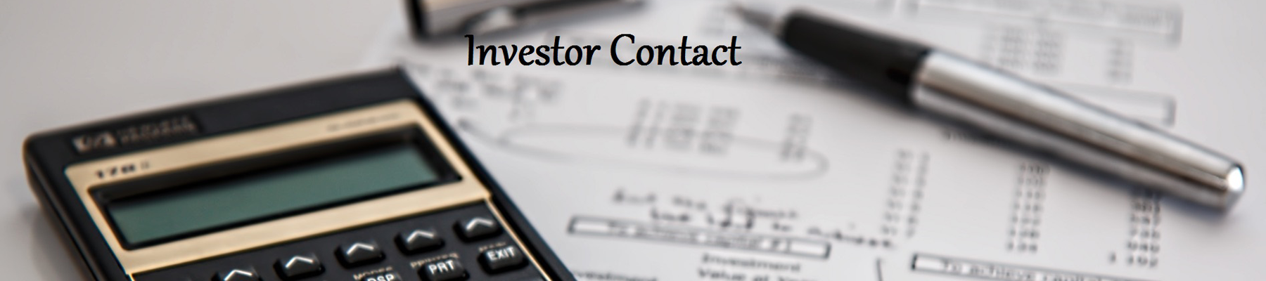 Investor Contact