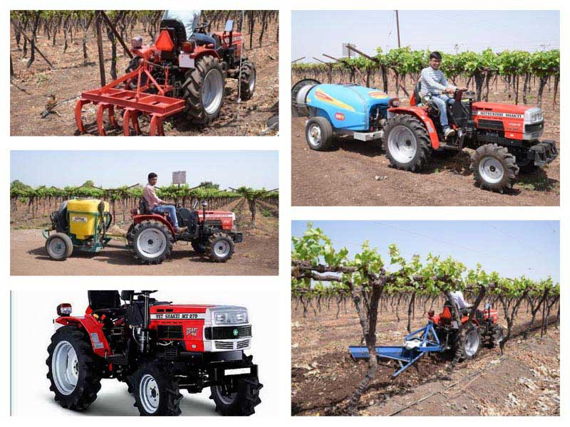 Grapes Crop Solution Tractors