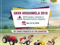 GKVK Krishimela 2018 Exhibition Invitation