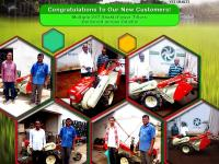 Our dealers from Odisha delivered VST Shakti Power Tillers across the state
