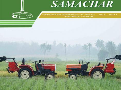 VST Shakti Samachar: January - March 2015
