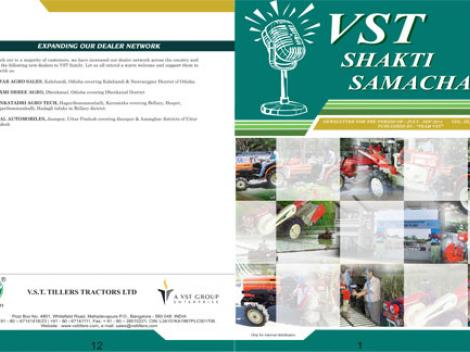 VST Shakti Samachar: July - September 2014
