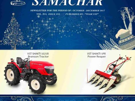 VST Shakti Samachar: October - December 2017