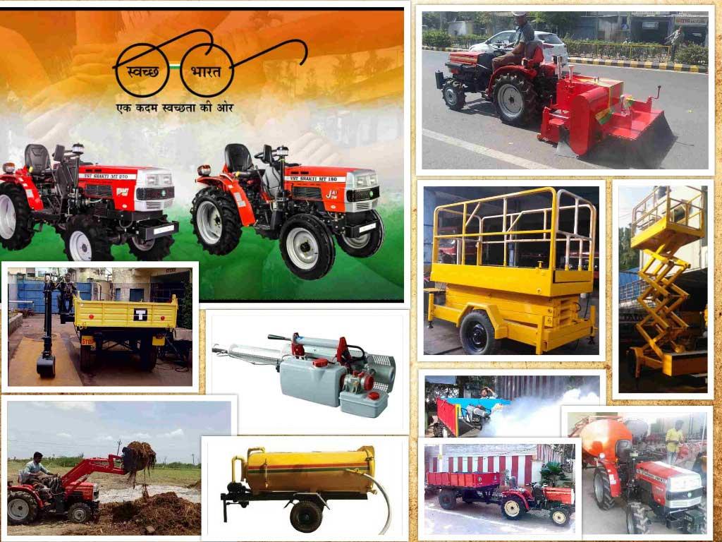 Power Tillers and Tractors - V S T Tillers Tractors Ltd