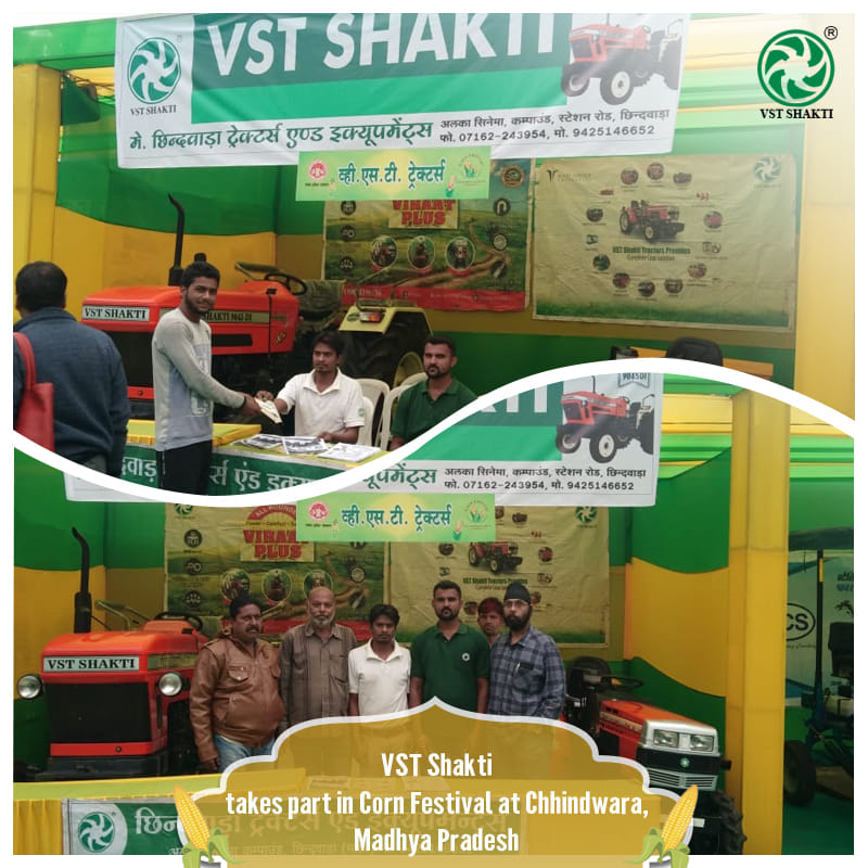 VST Shakti took part in a two day Corn Festival in Chhindwara, Madhya Pradesh.