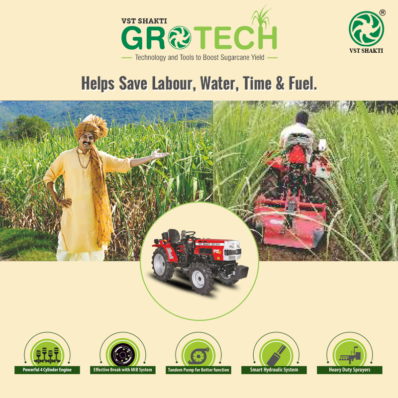 VST Shakti launched GroTech - an end-to-end solution .