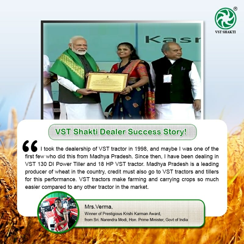 VST Shakti attributes its success for decades to the quality and sustainability of our Power Tillers and Tractors.