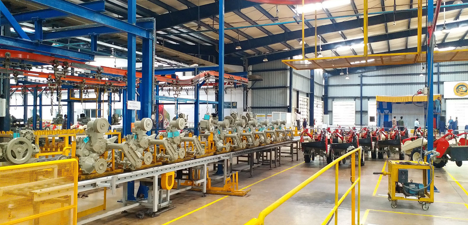 Production line at Malur