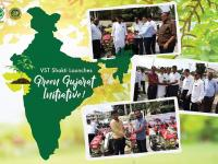 Green Gujarat initiative was launched by VST Shakti