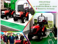Our international brand FIELDTRAC successfully participated at AGRITECHNICA- 2019 organised at Hannover, Germany.