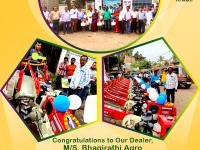 We congratulate our dealer M/S. Bhagirathi Agro from Berhampore, West Bengal for organising a mega delivery program.