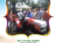 Sri. V S Sunil Kumar, Agriculture Minister, inspected our tractors and lauded the efforts of VST Shakti towards empowering farmers.