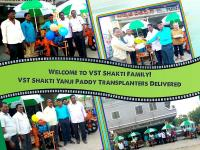 Handover VST Shakti Yanji Paddy Transplanters to our new customers.