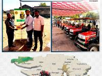 VST Shakti organised a service camp for tractors at Junagadh, Gujarat.