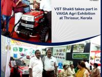VST Shakti participated in VAIGA Agri Exhibition at Thrissur, Kerala.