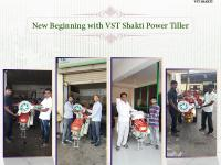 New Beginning with VST Shakthi Power Tiller.