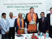 VST Tillers Tractors Limited signed an MoU with Zetor Tractors.
