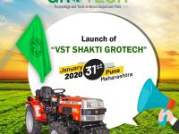 """VST Shakti Grotech"", the initiation towards doubling the farming income will be held today in Pune, Maharashtra."