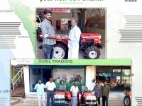 Our esteemed dealers from Gobichettipalyam, Tamil Nadu and Pallikkal, Kerala handed over the keys of VST Shakti Tractor to our new customers.