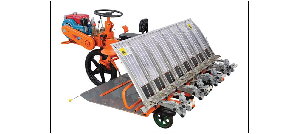 VST Yanji Shakti 8 Row - Paddy Transplanter